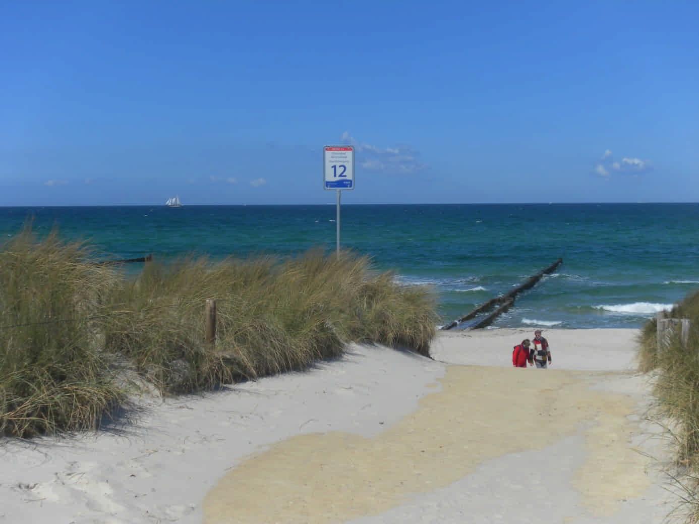 Strand bei Darß