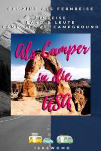 USA Tipps für Camping und Road Trip