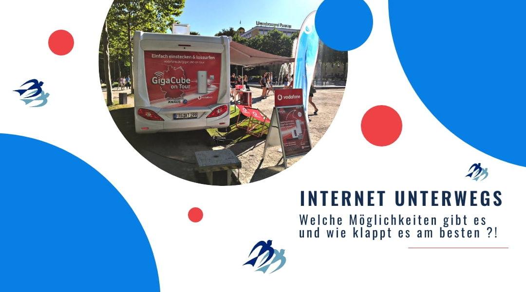 Internet unterwegs … immer wieder ein Problemchen