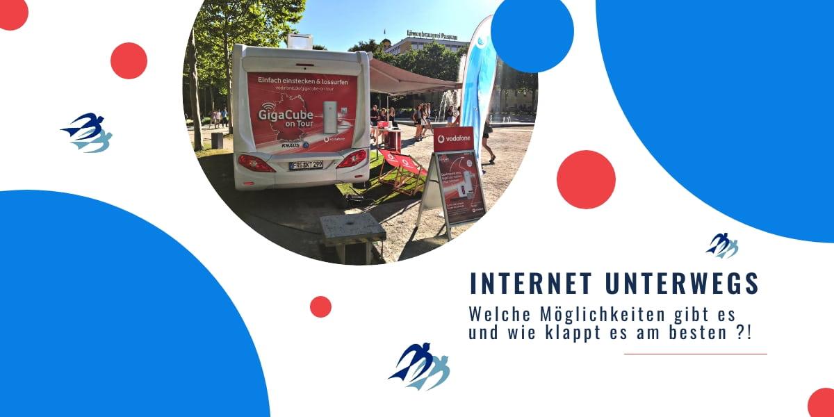 Internet unterwegs Wohnmobil Möglichkeiten