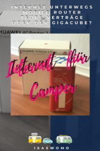 Internet unterwegs Camping Wohnmobil