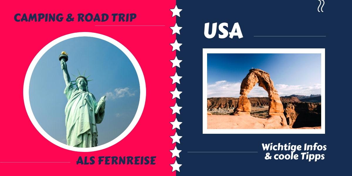 USA Camping und Road Trip