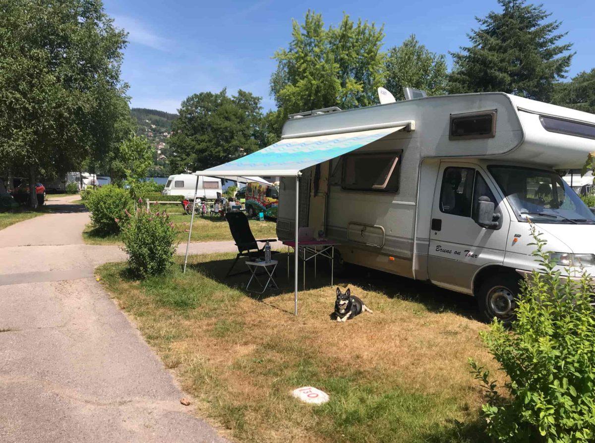 Gerardmer Vogesen Wohnmobil Nordfrankreich Tour