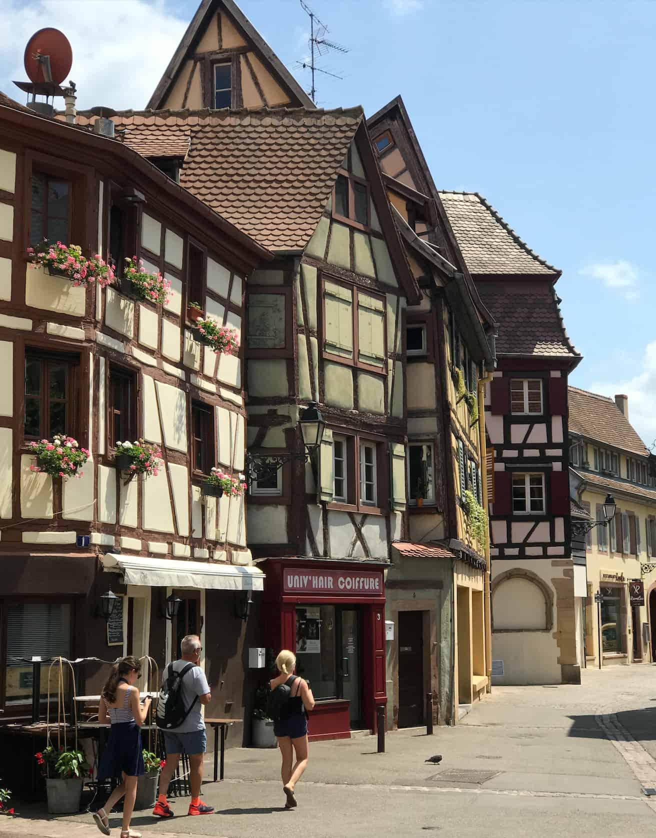 Wohnmobil Nordfrankreich Tour Colmar