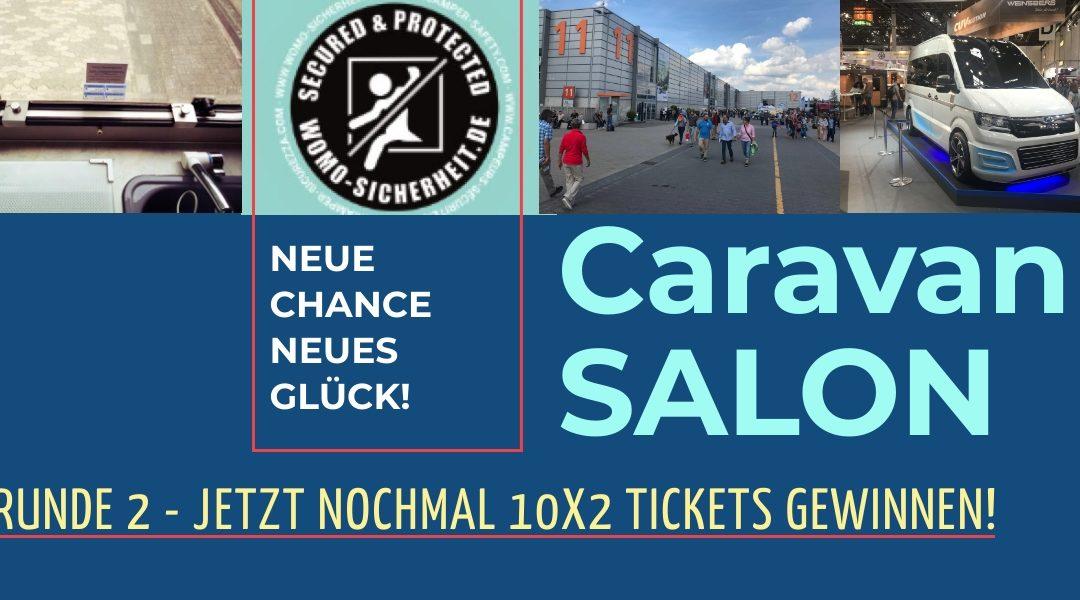 Caravan Salon Tickets – Runde 2 dank Womo Sicherheit!
