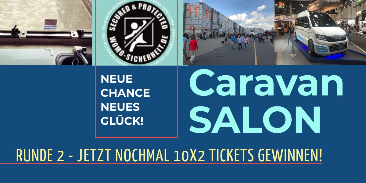 Caravan Salon Tickets gewinnen