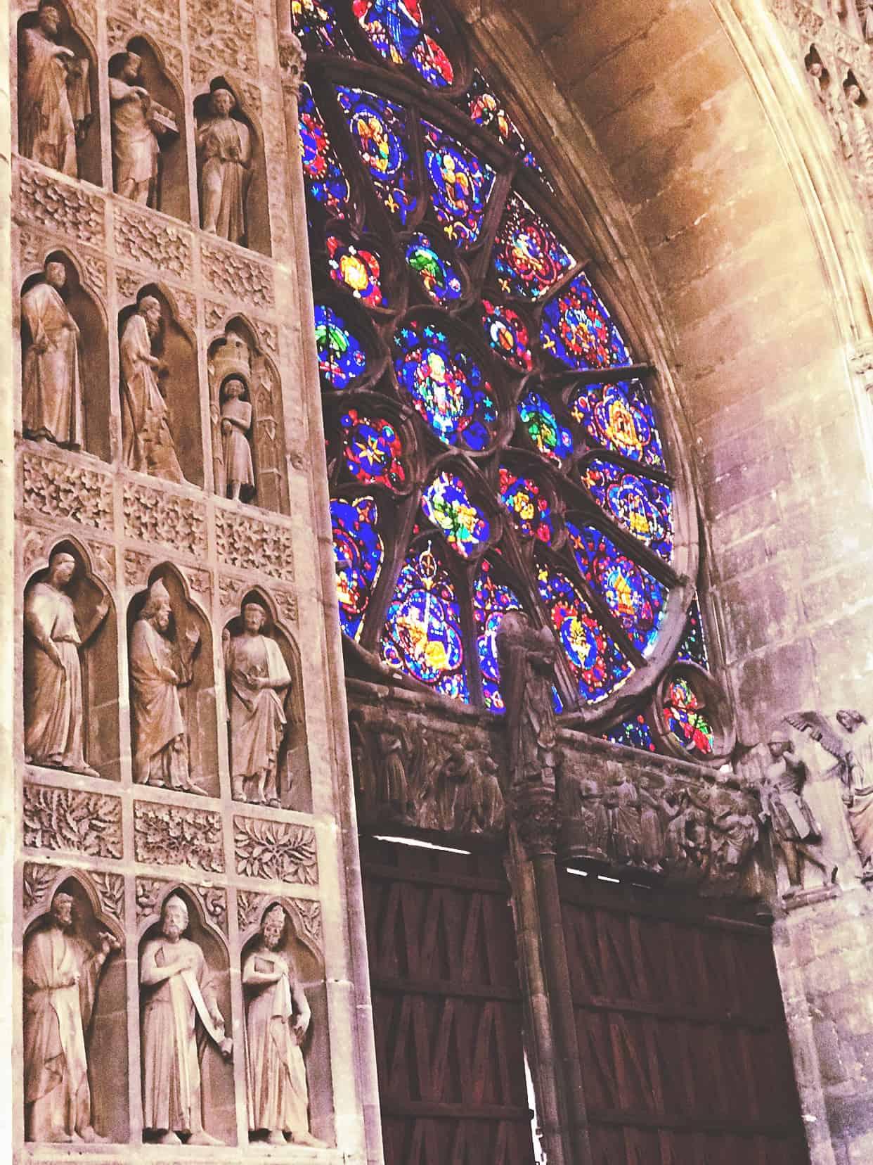 Reims Kathedrale Kirche