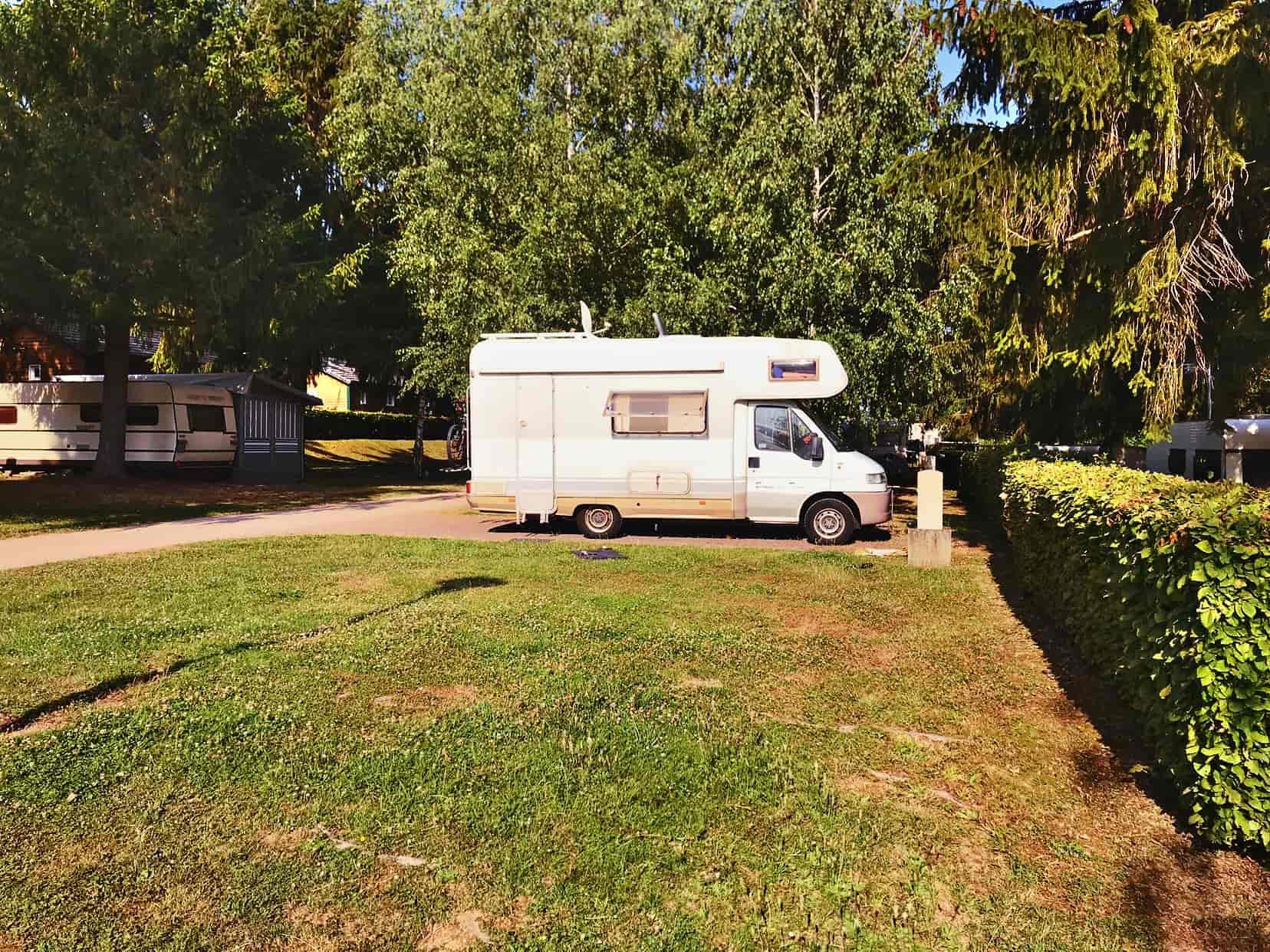 Campingplatz Wasselone, Wohnmobil Nordfrankreich Tour