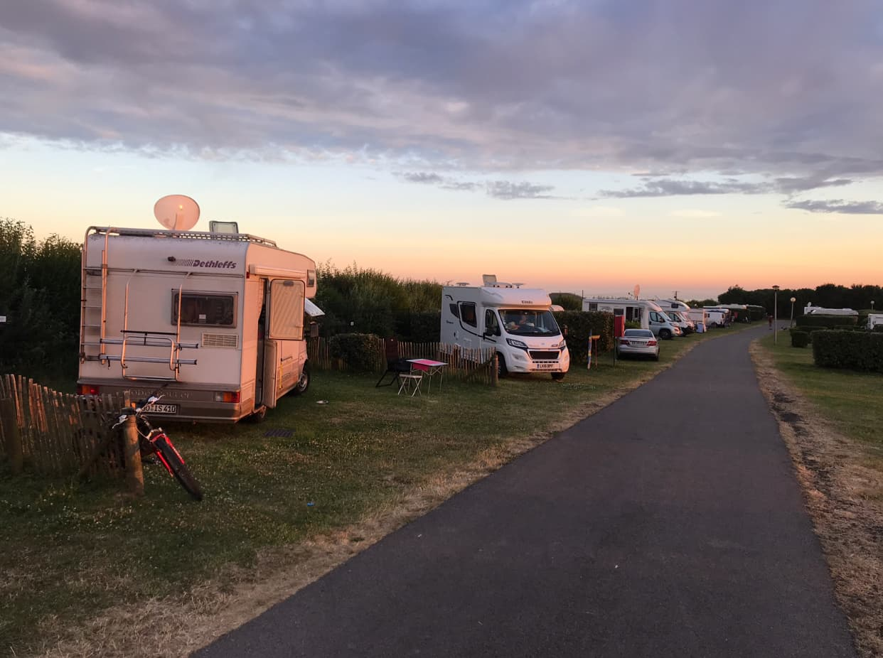 Campingplatz Equihen Plage Nordfrankreich