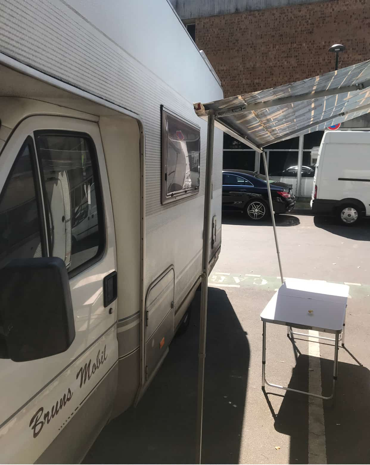 Wohnmobil Stellplatz in Reims