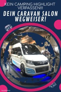 Camping Trends Caravan Salon Highlight Wegweiser