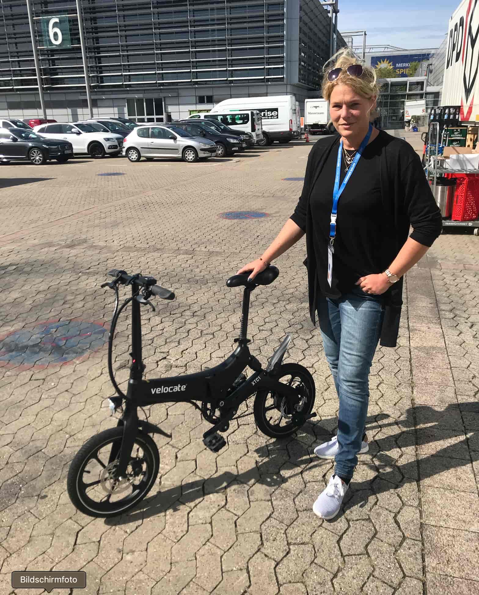 Klapp E-Bike von Velocate