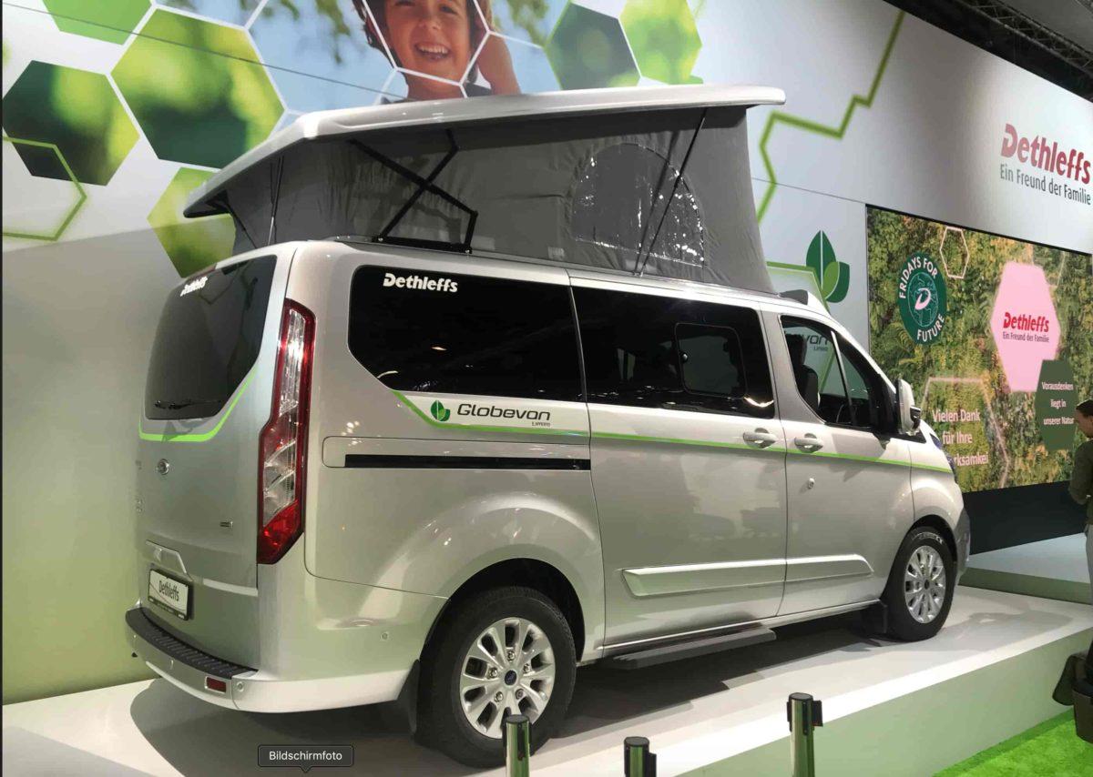 Hybrid Campervan für die Camping Zukunft?
