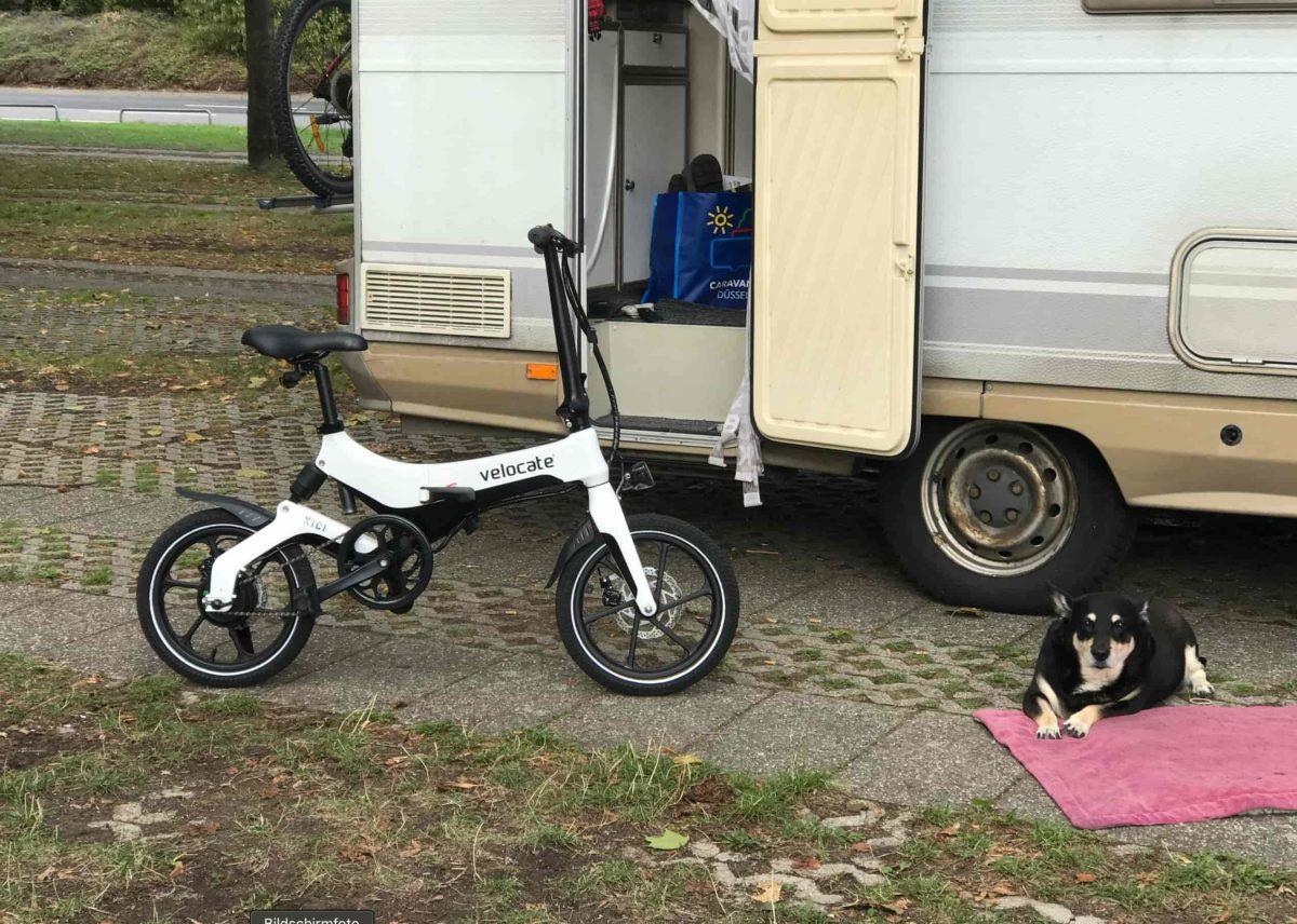 Ein Klapp-Rad für das Wohnmobil