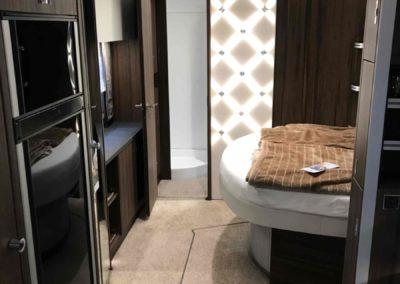 Wohnwagen der Luxusklasse