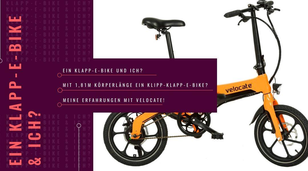 Ein Klapp-E-Bike, Körperlängen und der Fremdschämfaktor – Velocate & ich!