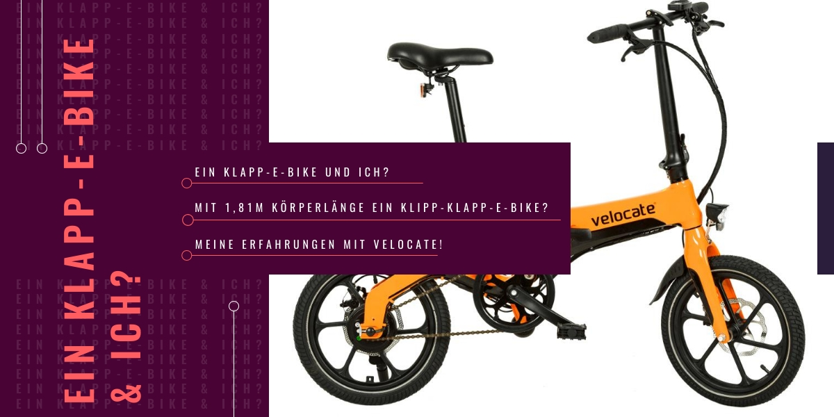 Klapp-E-Bike für Camping, Wohnmobil und Wohnwagen