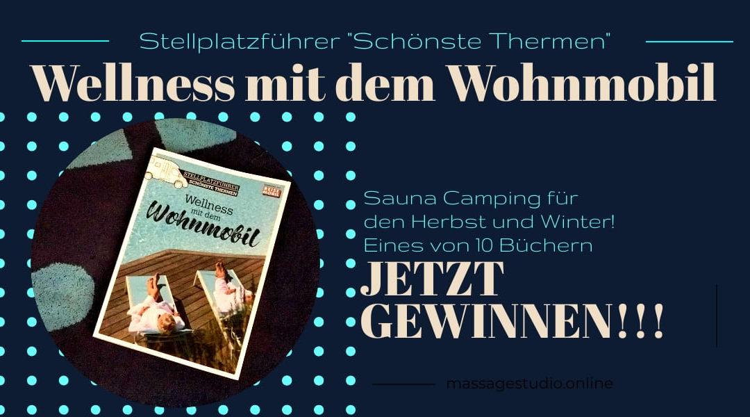 """Stellplatzführer """"Schönste Thermen"""" – jetzt mit Dolde Medien und IsasWomo gewinnen"""