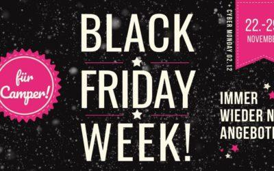 Black Friday Week auf Amazon 2019 – Angebote für Camper