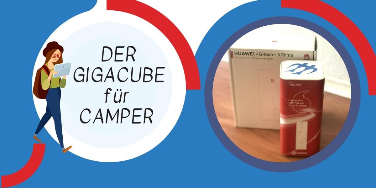 GigaCube für Camping und Wohnmobil
