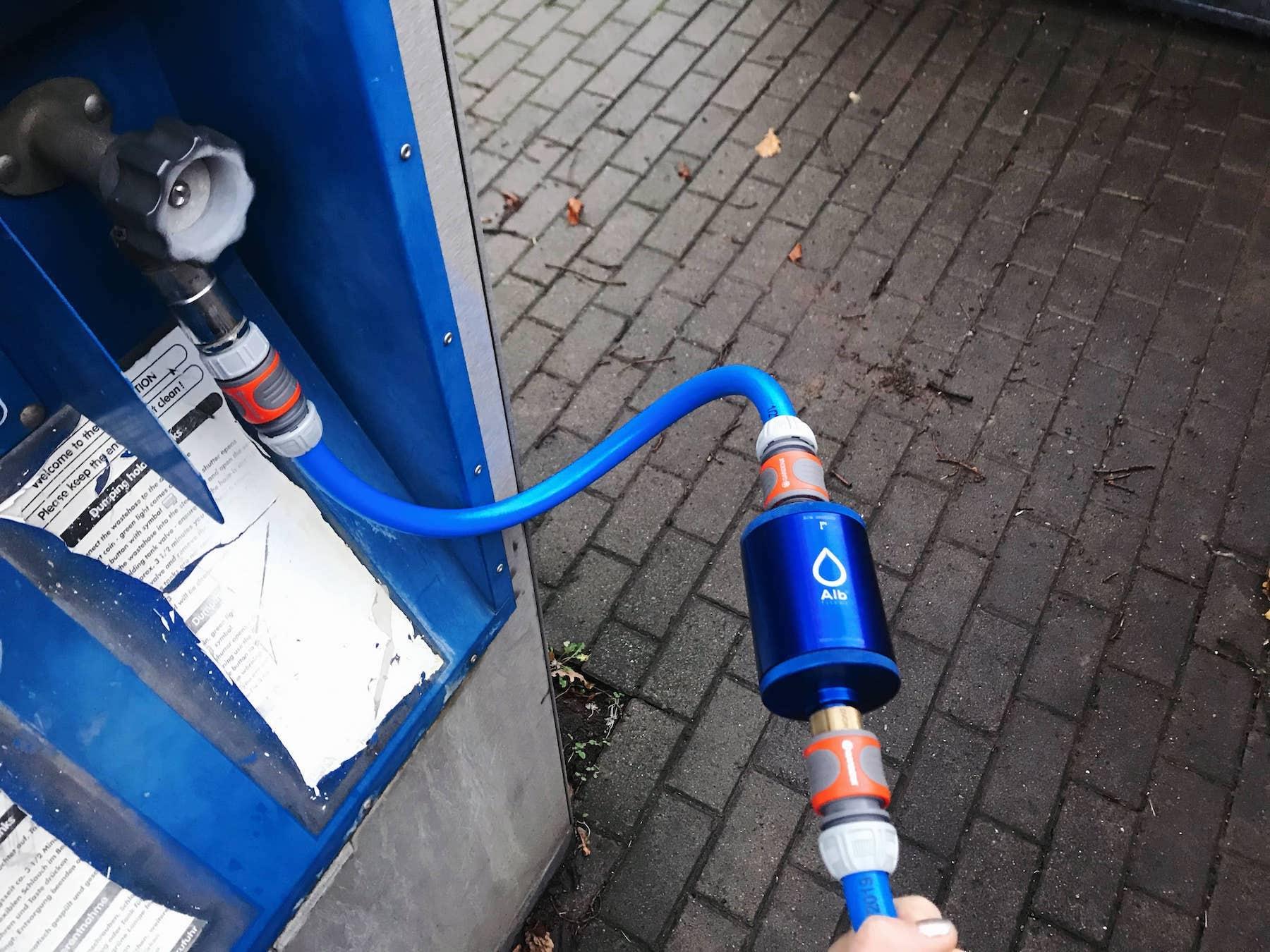 Wasserfilter für Wohnmobil und Wohnwagen von Alb