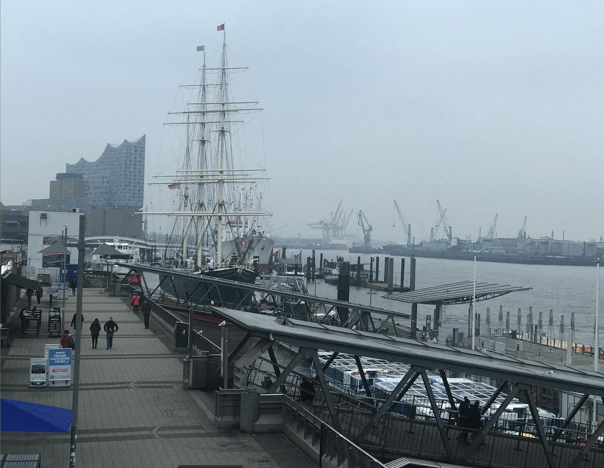 Hamburg mit dem Wohnmobil