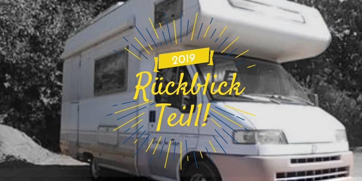 Jahresrückblick Camping vanlife 2019