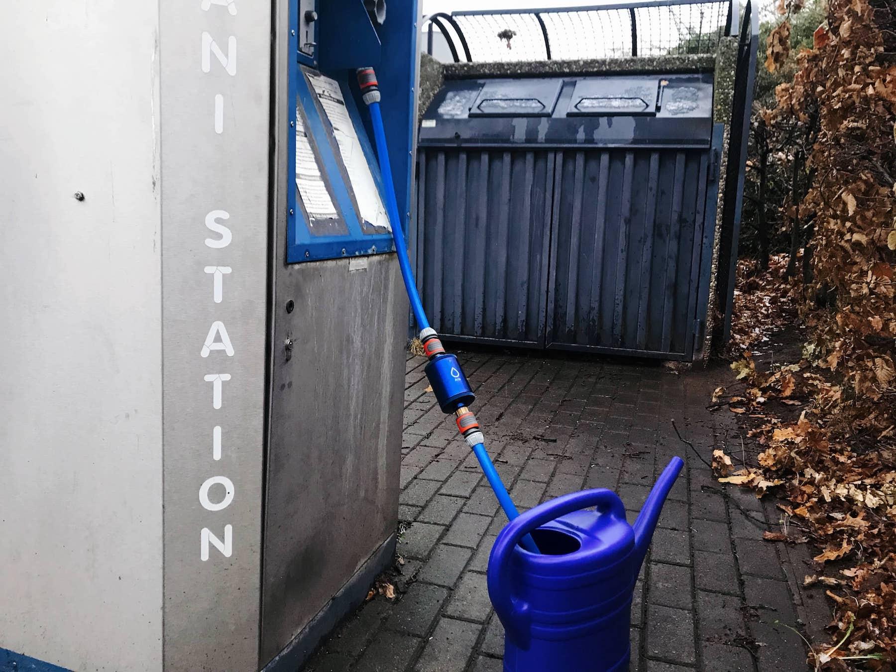 Gefiltertes Wasser für das Wohnmobil