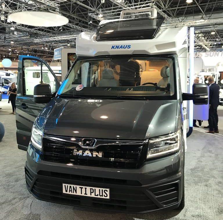 Knaus Van TI Plus - kurzes Wohnmobil