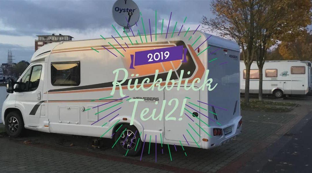 Camping, der Blog und die Branche – 2019 Teil 2