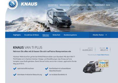 Knaus Van TI Plus
