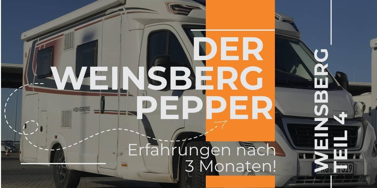 Weinsberg Pepper Dauertest Erfahrungen