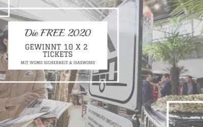 10x 2 Karten für die FREE in München