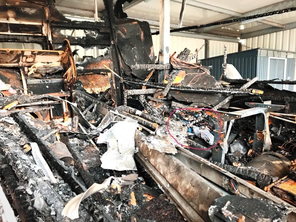 Versicherung nach dem Wohnmobil Brand