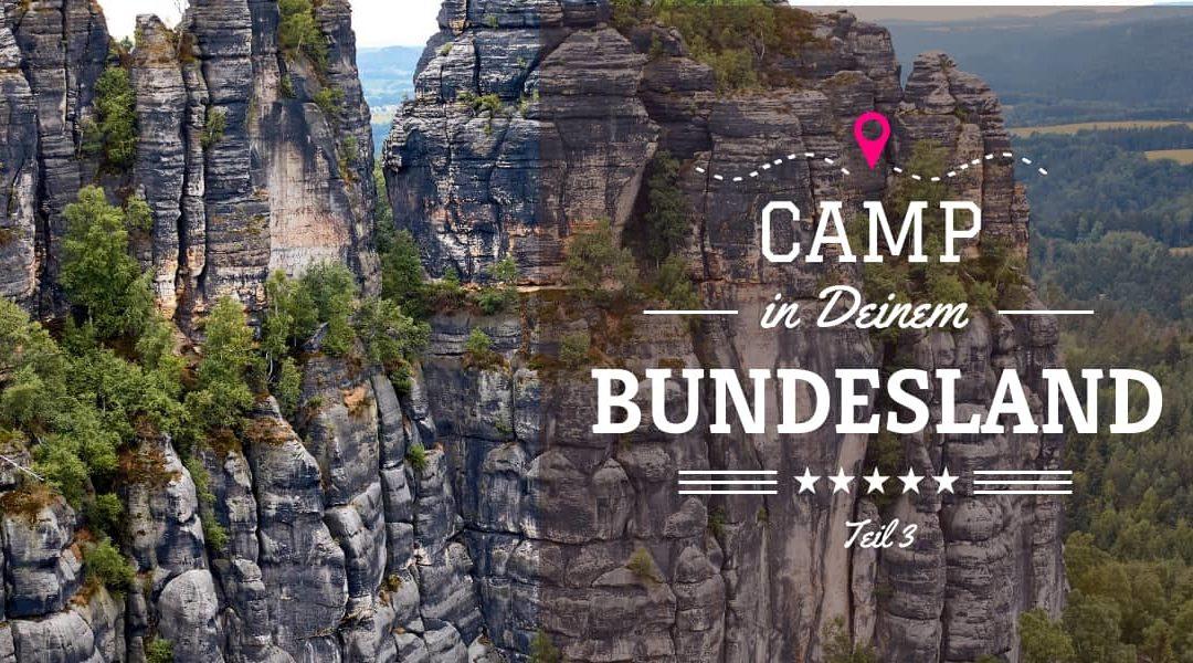 Camping in NRW, Niedersachsen, Rheinland Pfalz und Saarland