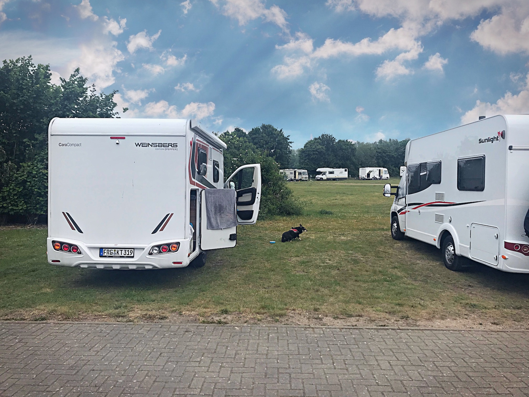 Wohnmobil Camping Corona Frühsommer Tour