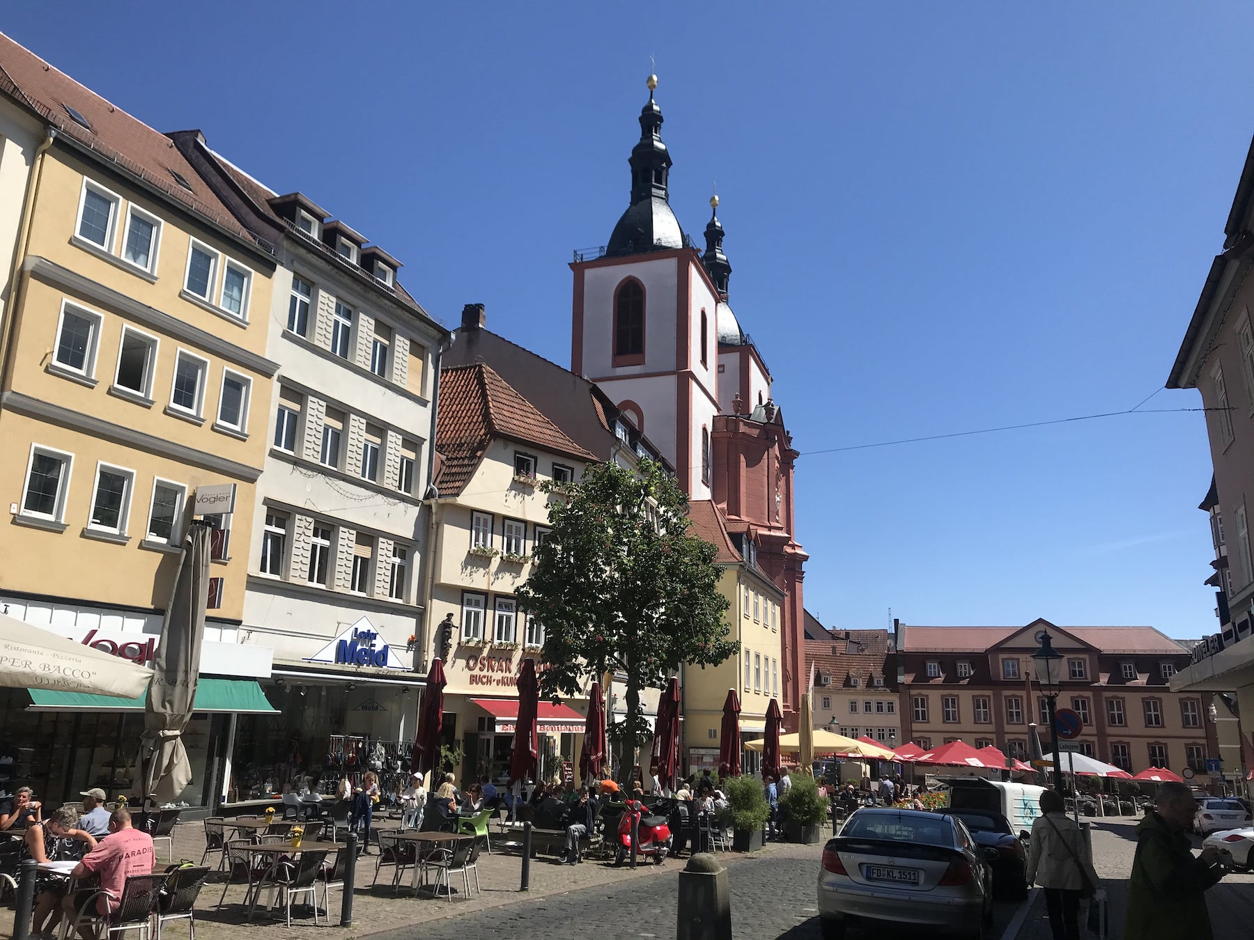Wohnmobil Tour Hessen Fulda