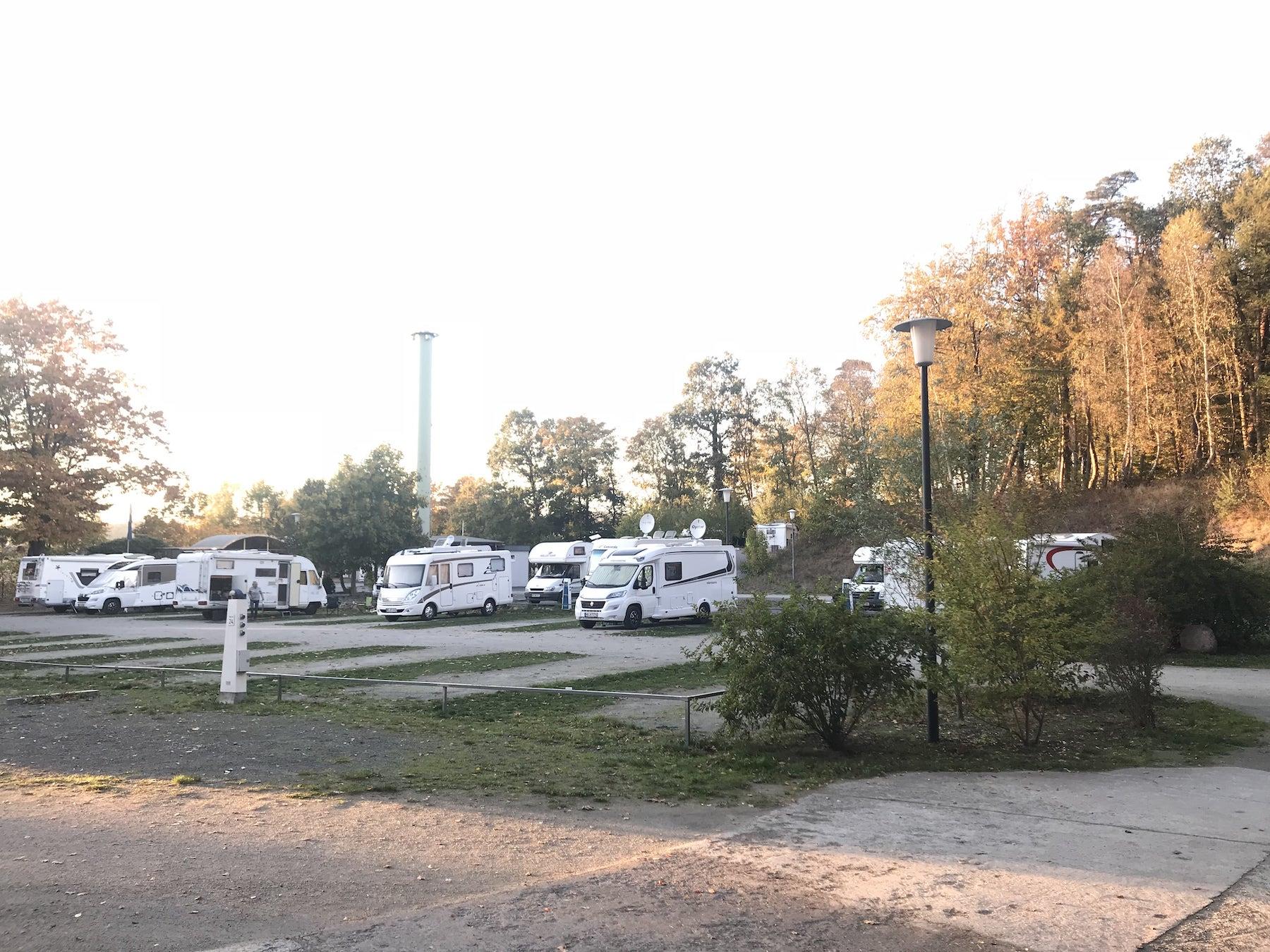 Camping ende November