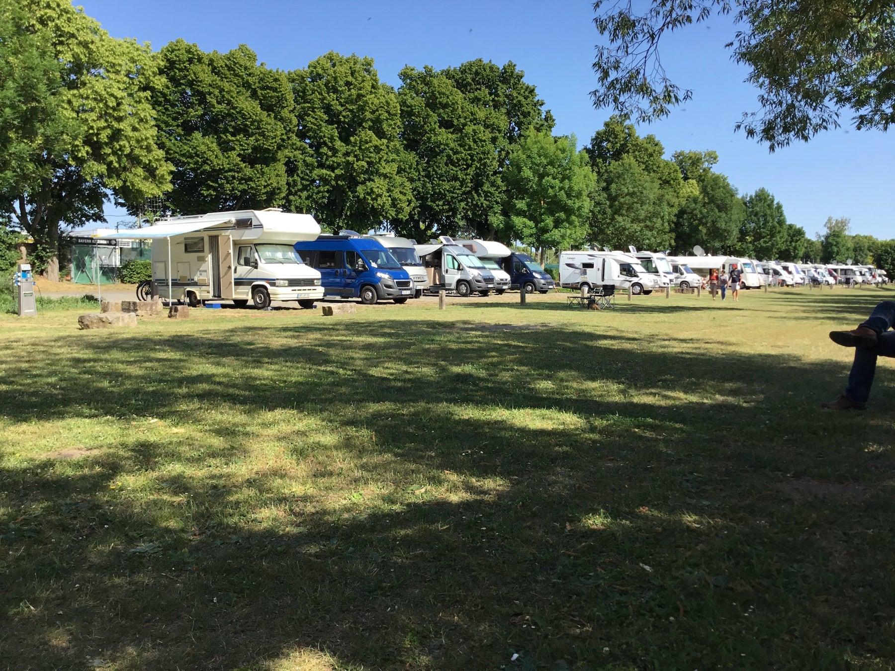Camping nach Corona in Deutschland, Bayern, Kitzingen