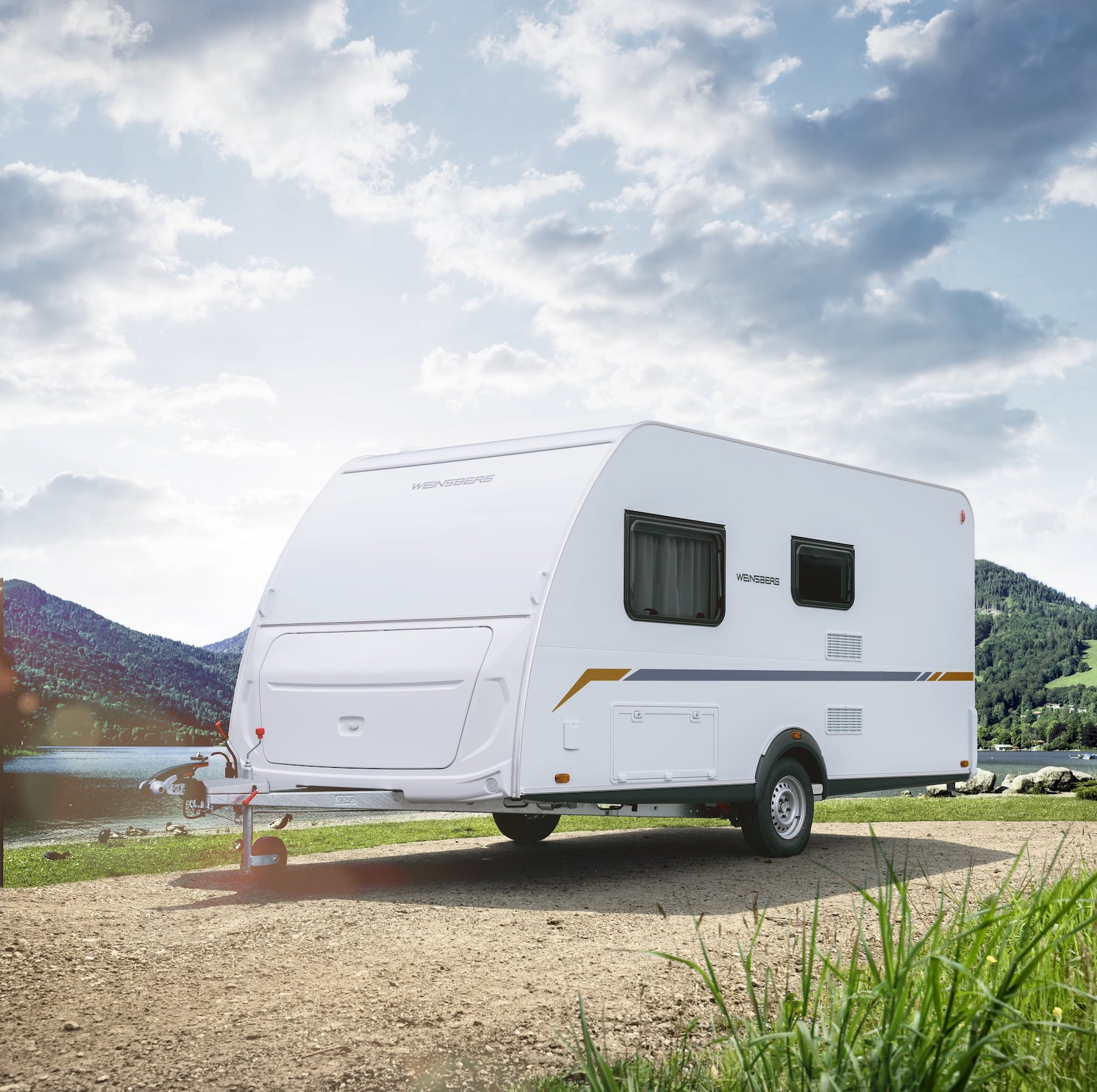 Ein neuer Wohnwagen - Weinsberg CaraCITO ohne Gas