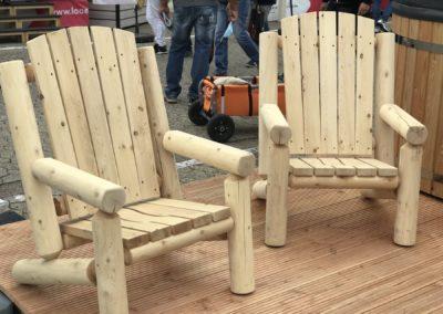 Campingstühle aus Holz