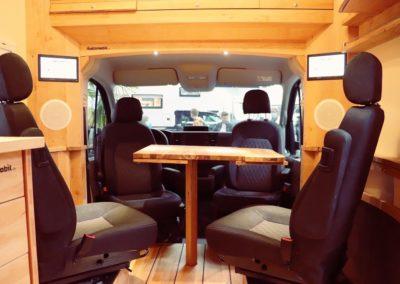 Holzmobil der Trend unter Campern