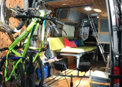 Cargo Camper Innenausbau Van