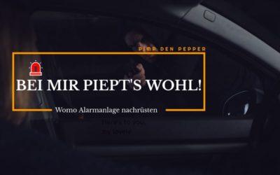 Pimp den Pepper Teil 1 – Reisemobil Alarmanlage nachrüsten lassen von Caratec