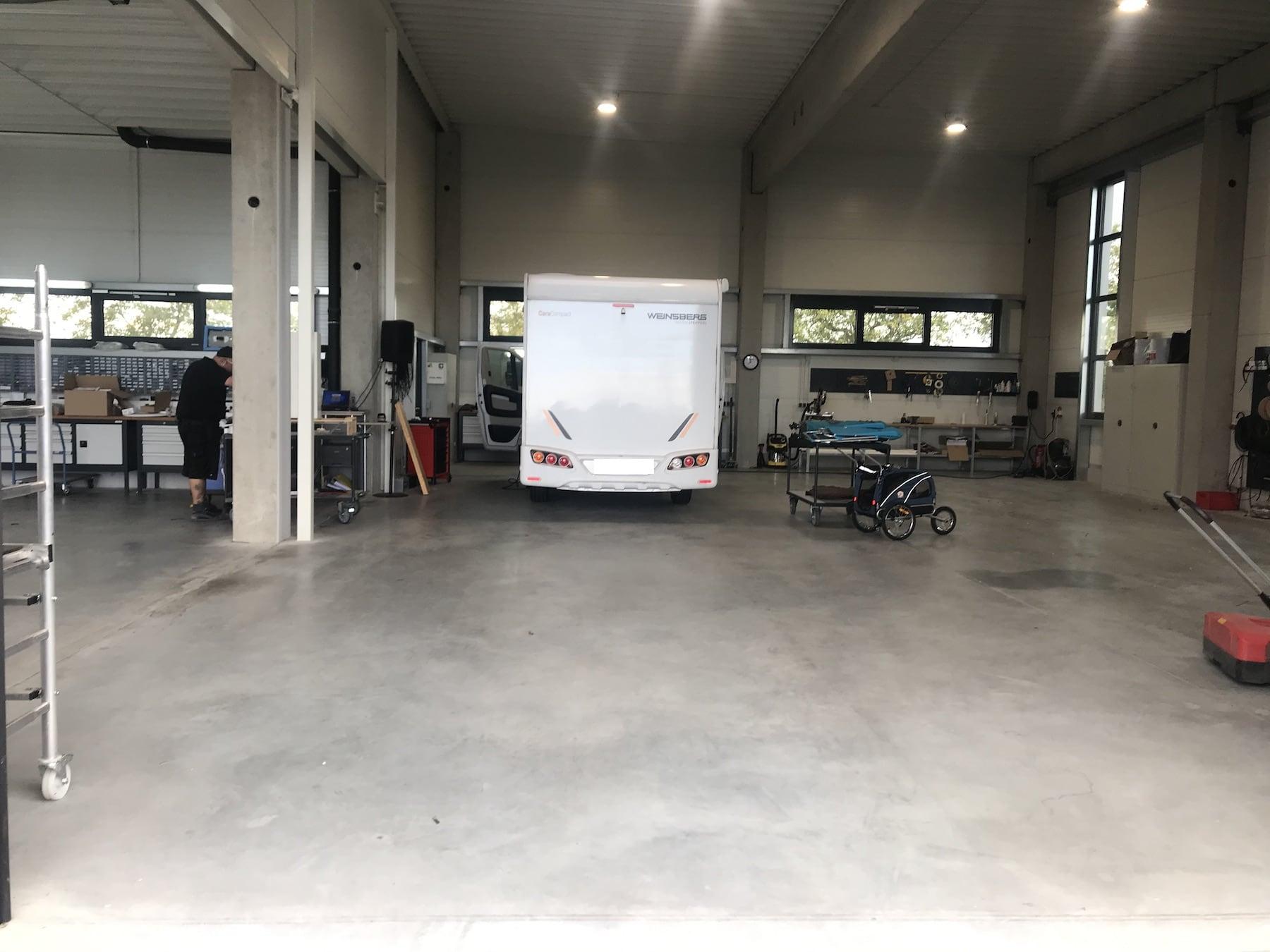 Caratec Wohnmobil Werkstatt