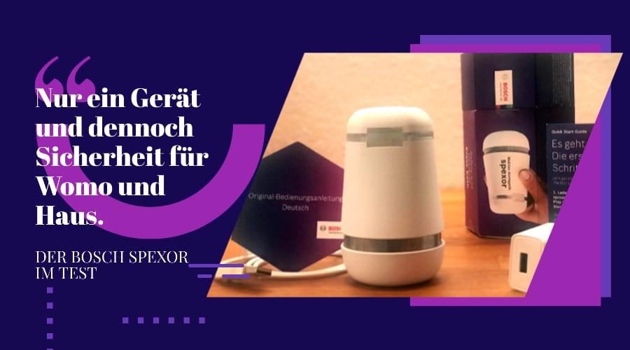 Einfach sicher – der Bosch Spexor im Test