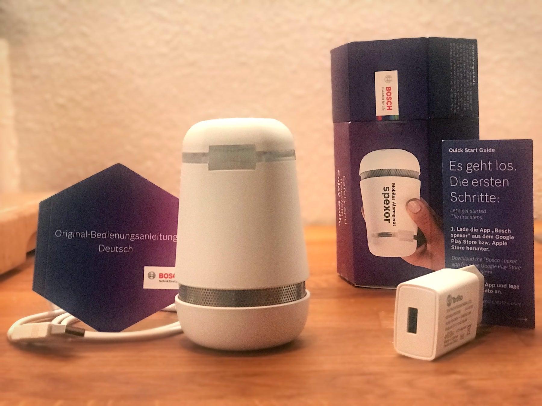 Bosch Spexor mobile Sicherheit