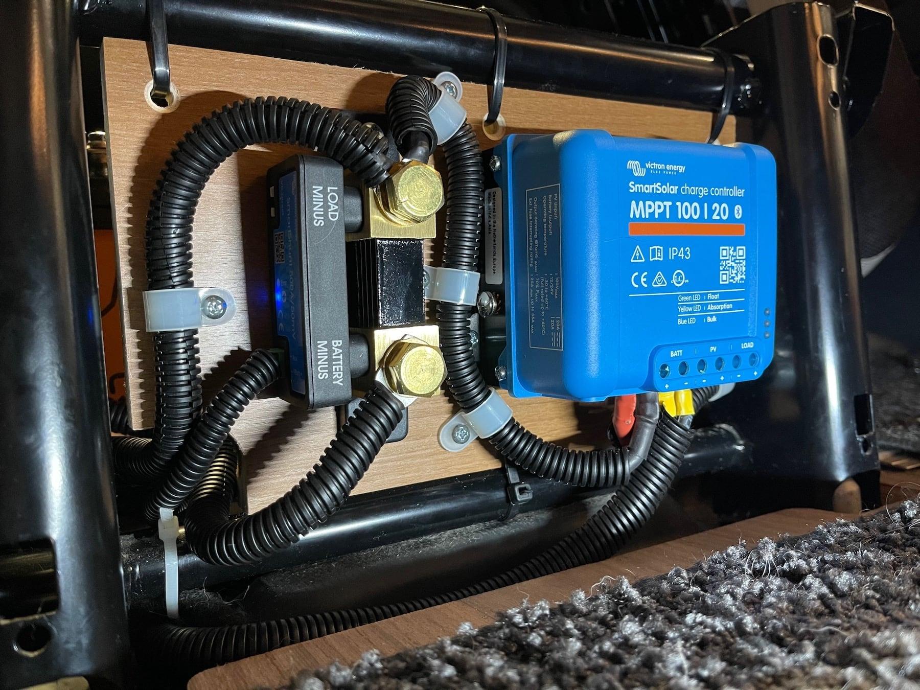 Voltronic Batterie Management System Lithium Batterie für Wohnmobile