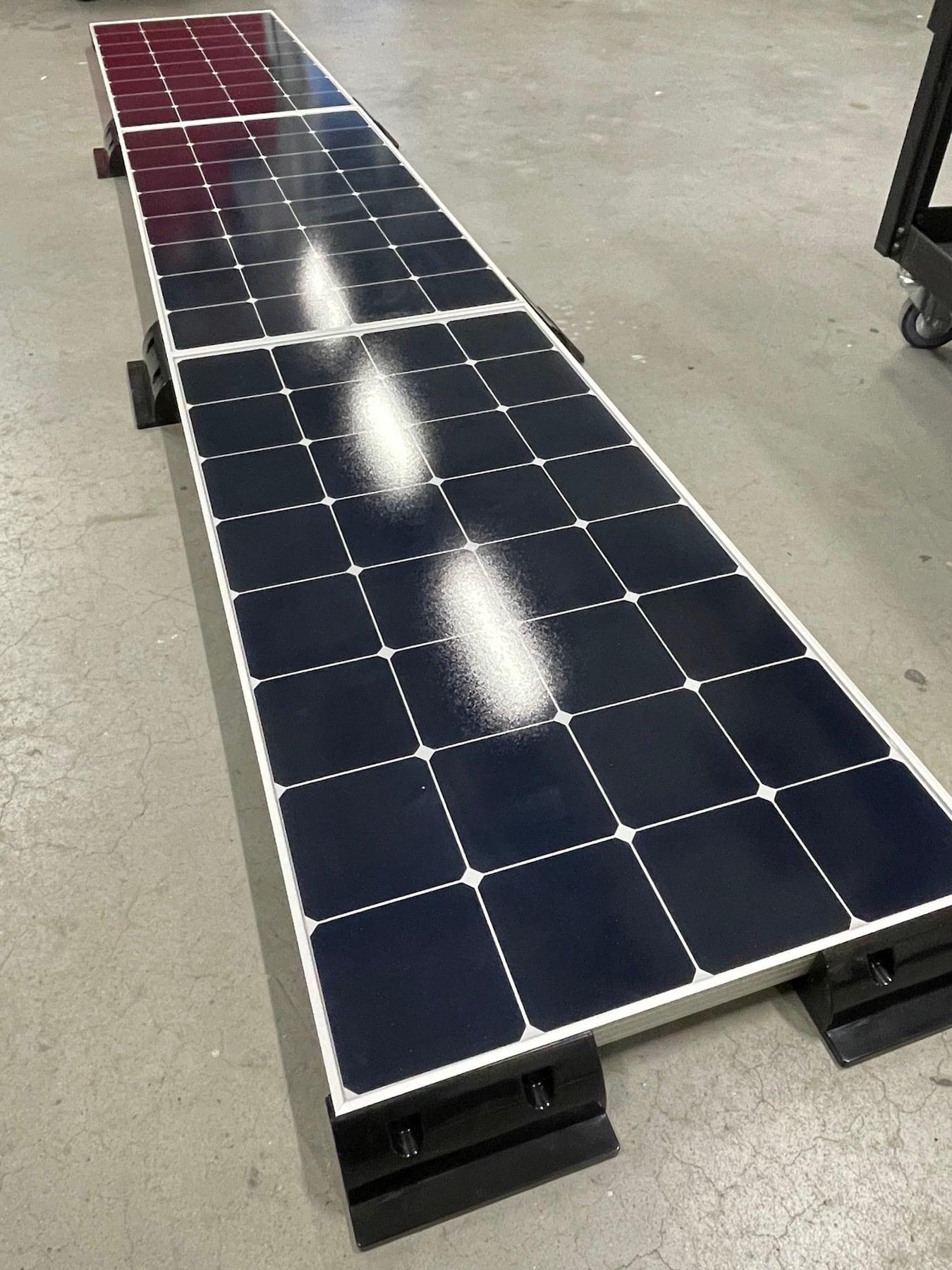 Solaranlage für Wohnmobile 330 Watt