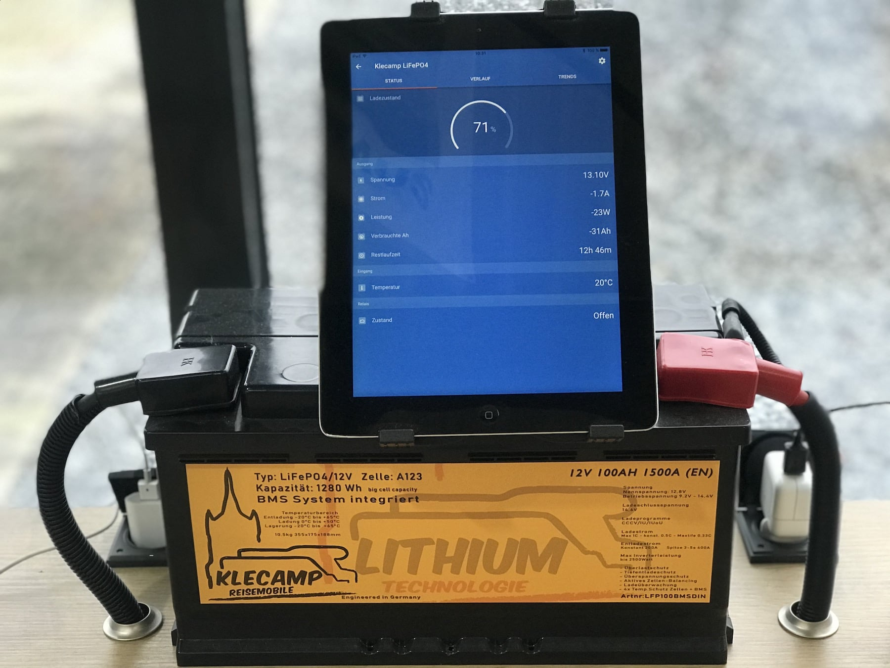 Lithium Batterie für Wohnmobile, Einbau, Sinn, Können